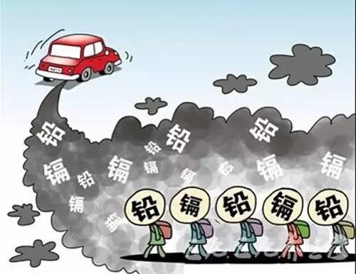 """""""汽车灾难""""已经形成,由此带来的汽车尾气更是害人不浅."""