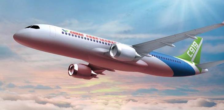 国产大飞机c919将交付飞行 拉动新材料等相关产业发展