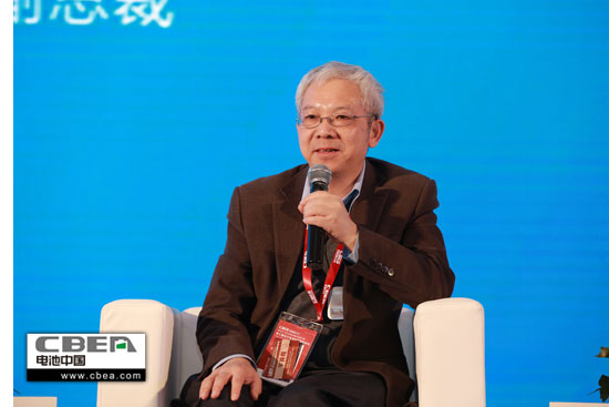 图为浙江遨优动力系统有限公司副董事长陈光森