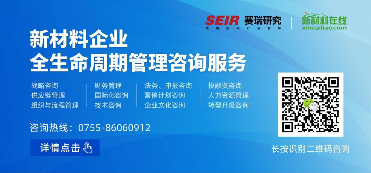 新材料企业全生命周期管理咨询服务