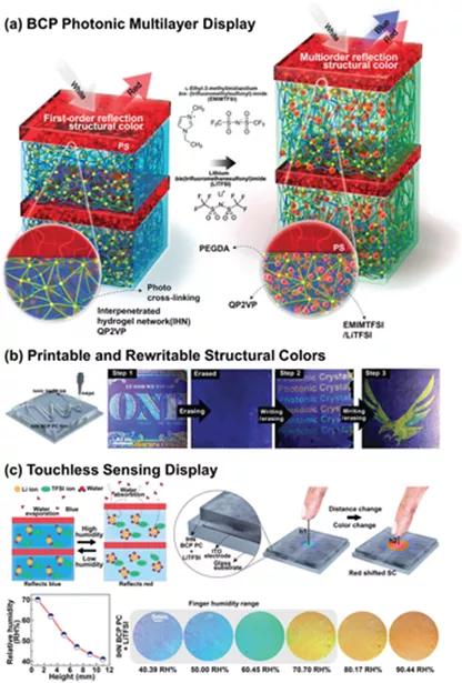剑桥大学综述:制备光子膜和颜料的嵌段共聚物自组装的最新进展
